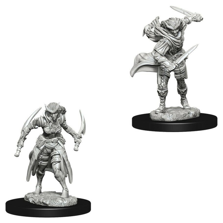 D&D Unpainted Miniatures: Tiefling Female Rogue