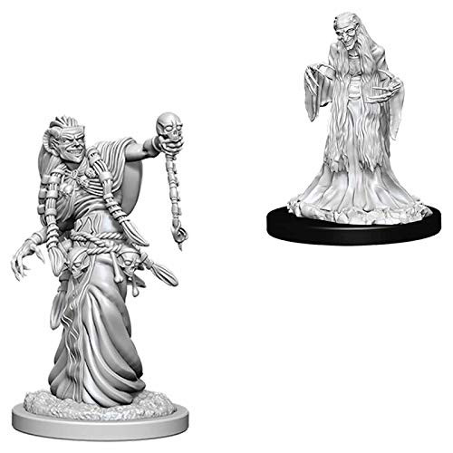 D&D Unpainted Miniatures: Green Hag & Night Hag