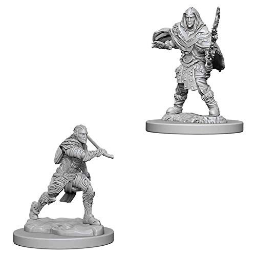 D&D Unpainted Miniatures: Male Elf Fighter