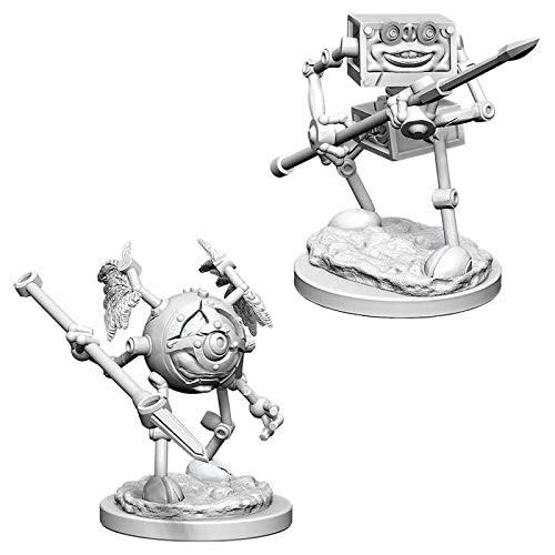D&D Unpainted Miniatures: Monodrone & Duodrone