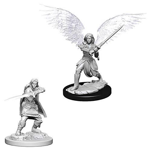 D&D Unpainted Miniatures: Female Aasimar Fighter