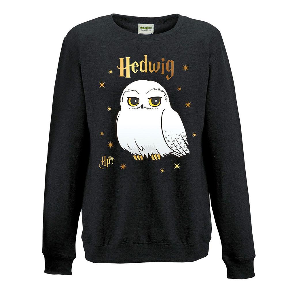 Harry Potter - Foil Hedwig Stars Sweatshirt