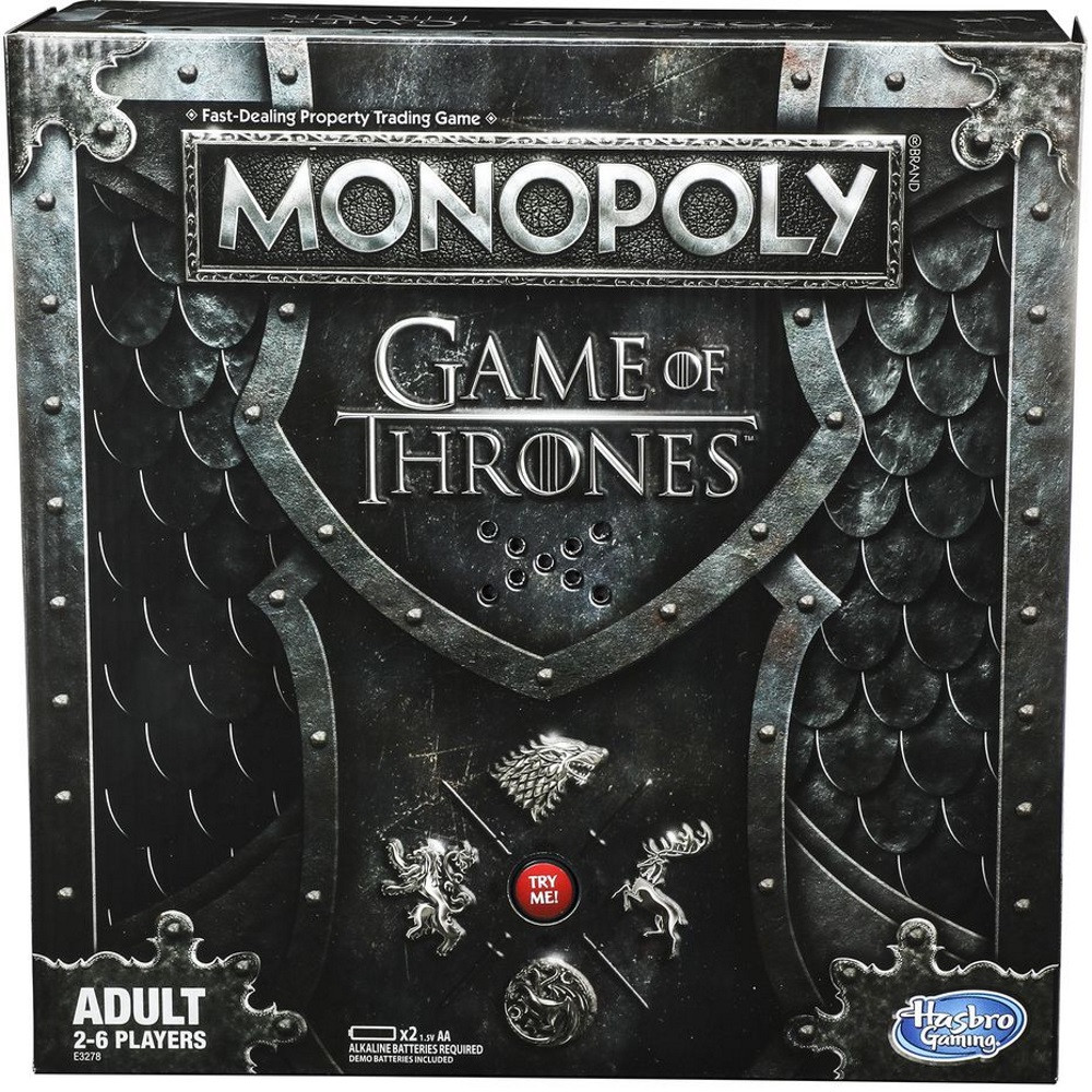 Monopoly Game of Thrones with Electronic Throne
