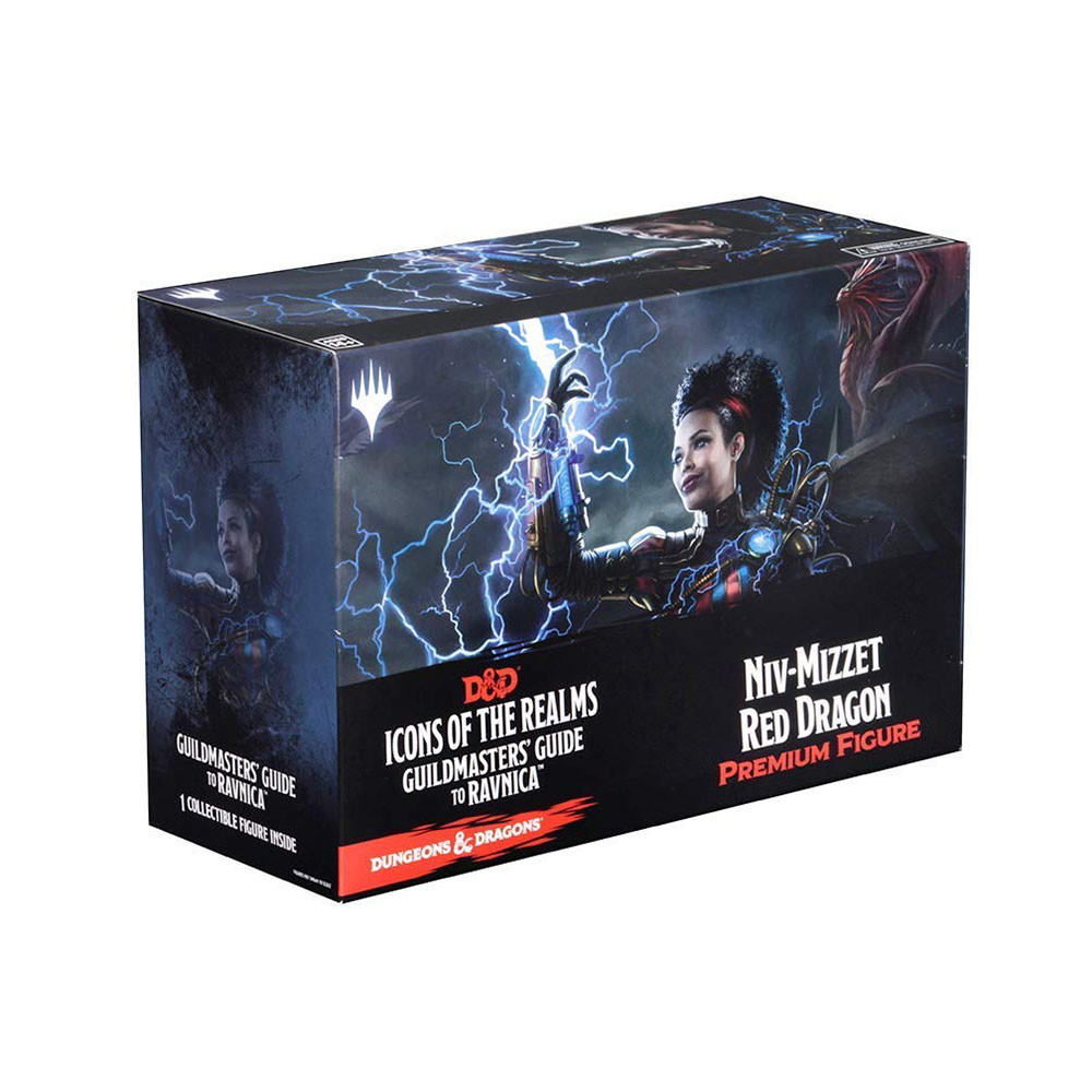 Dungeons & Dragons Icons of the Realms: Guildmasters' Guide to Ravnica Niv-Mizzet Red Dragon Premium Figure