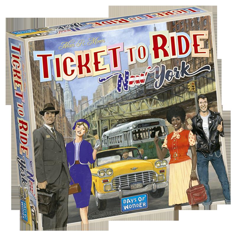 Ticket to Ride: New York (editie in limba romana)