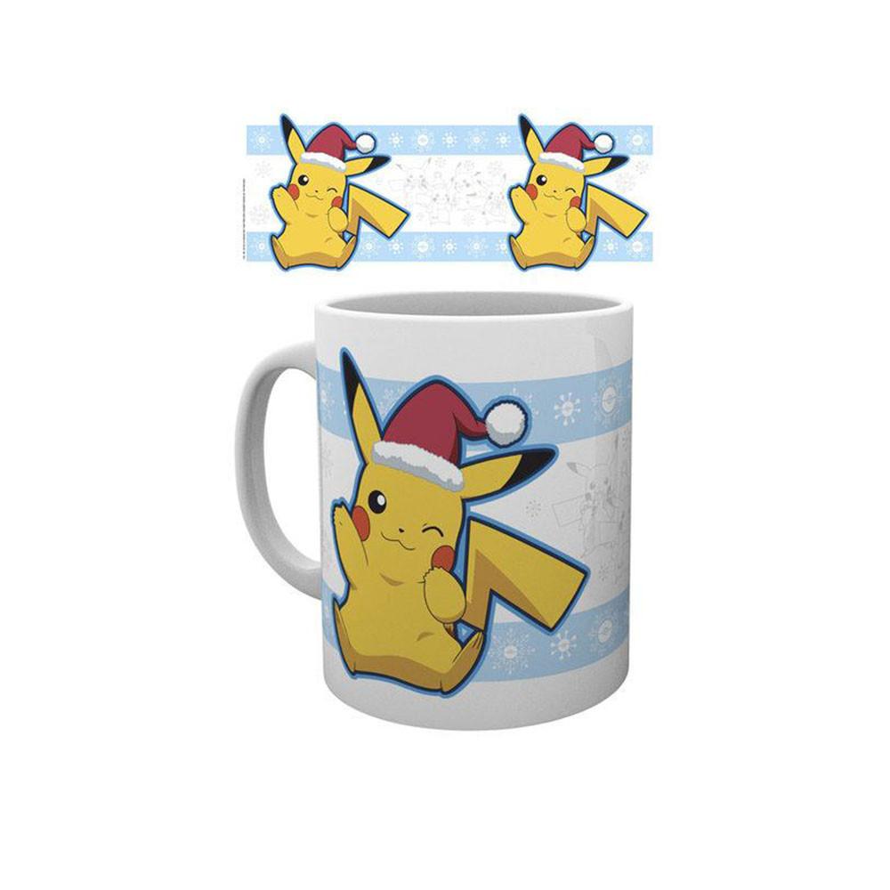 Cana Pokemon - Pikachu Santa