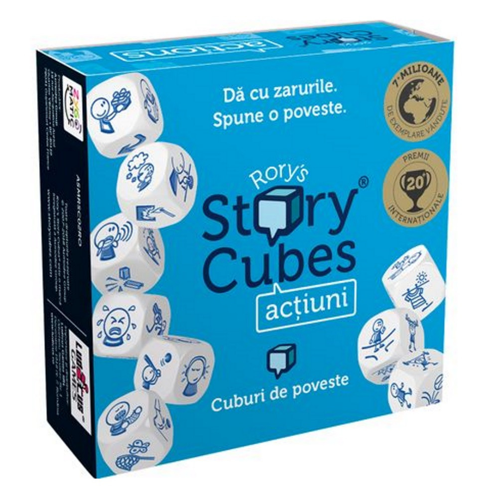 Rory's Story Cubes: Actions (versiune in limba romana)