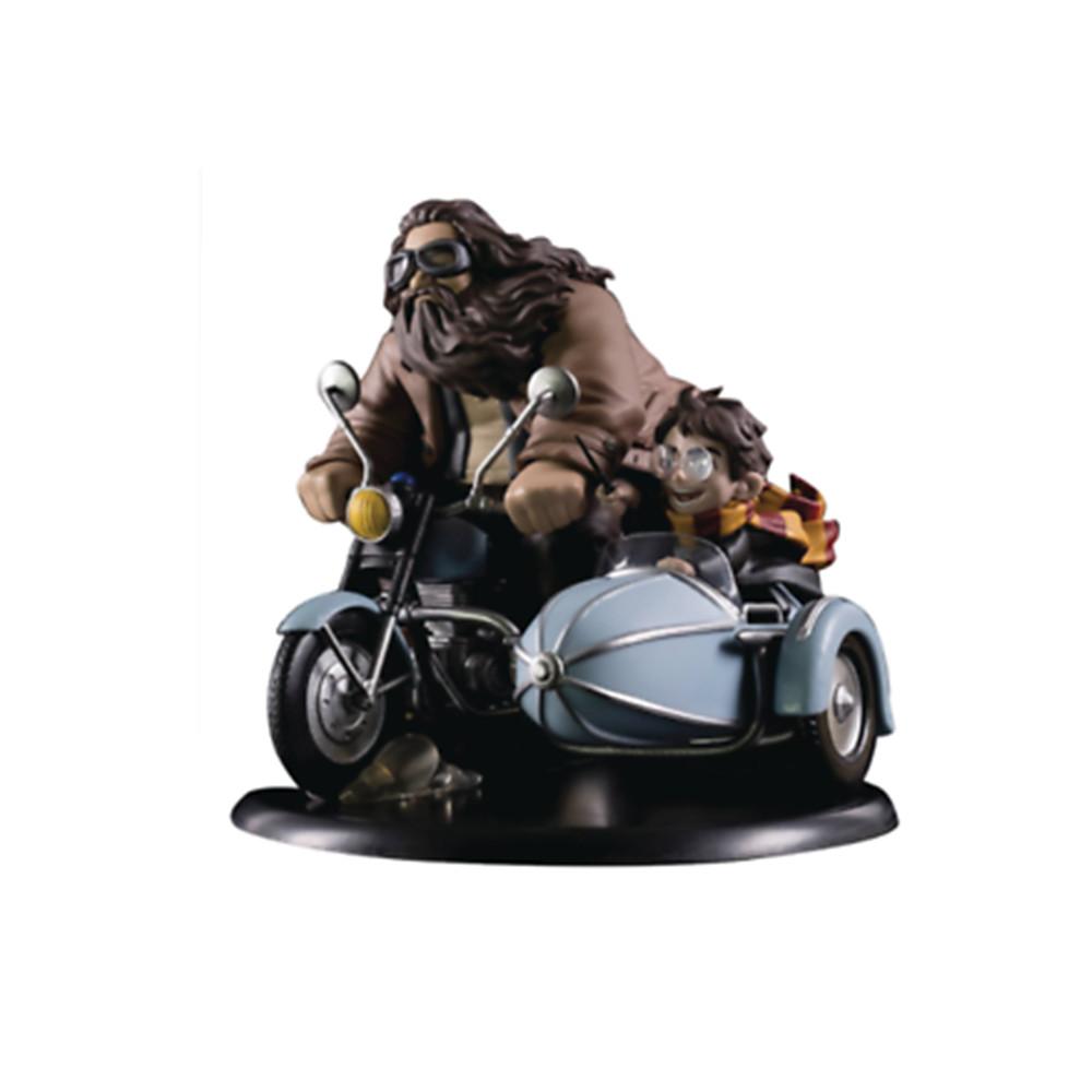 Figurina: Harry Potter Q-Fig MAX Diorama Harry Potter & Rubeus Hagrid 15 cm