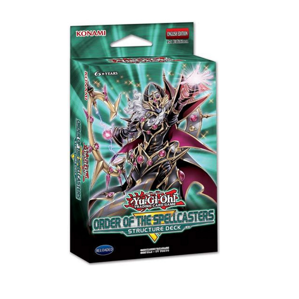 Yu-Gi-Oh - Structure Deck - Order of the Spellcasters