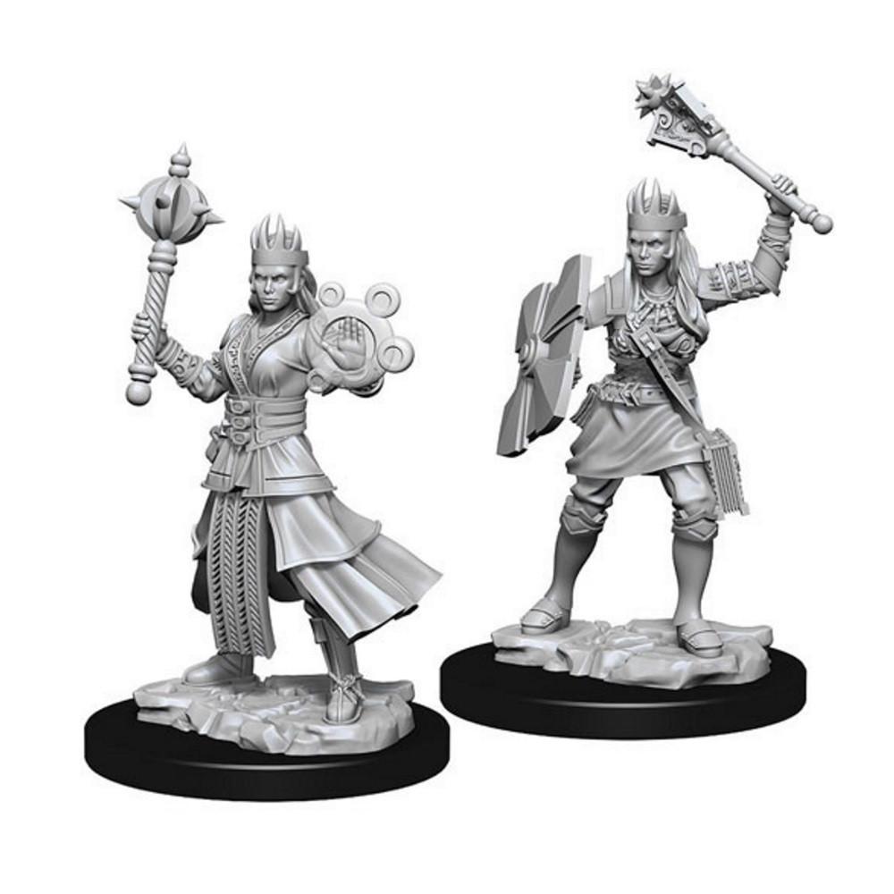 D&D Unpainted Miniatures: Female Human Cleric