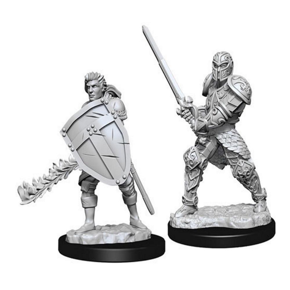 Miniaturi Nepictate D&D Male Human Fighter