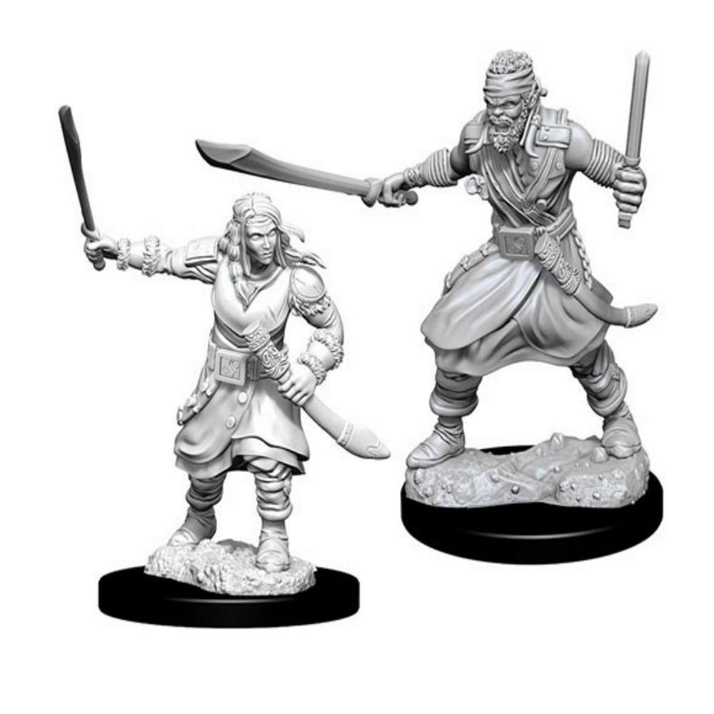 D&D Unpainted Miniatures: Bandits