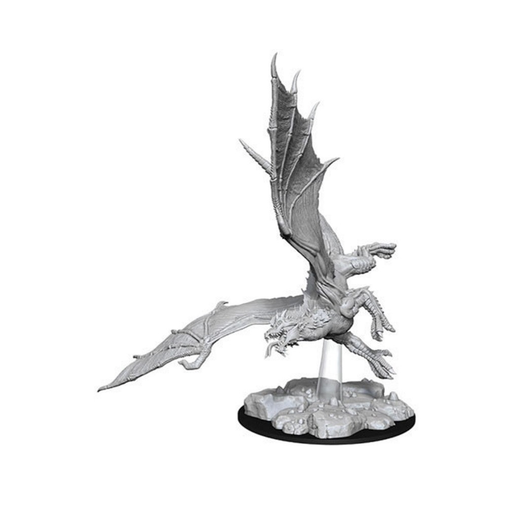 D&D Unpainted Miniatures: Young Green Dragon
