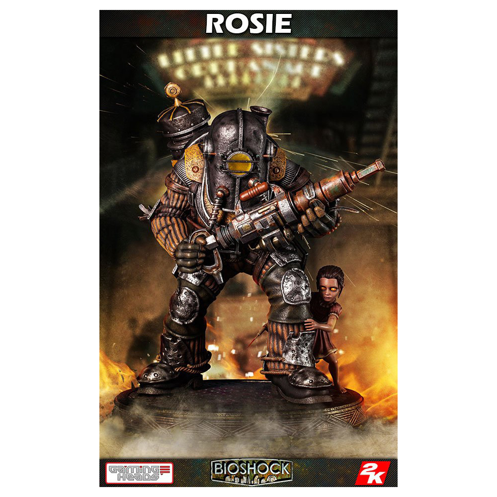 Figurina BioShock Infinite 1/4 Big Daddy - Rosie 53 cm