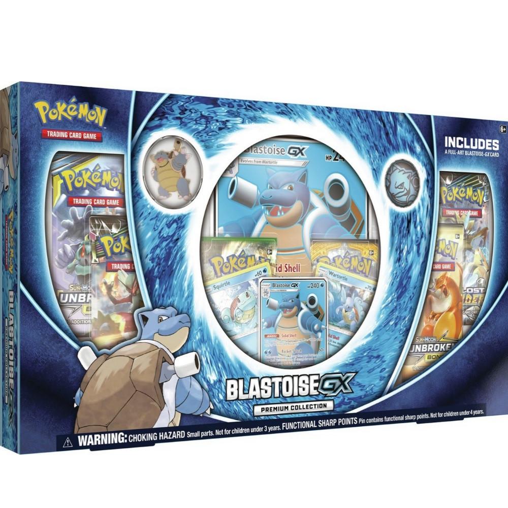 Pokemon TCG: Blastoise-GX Premium Collection Box