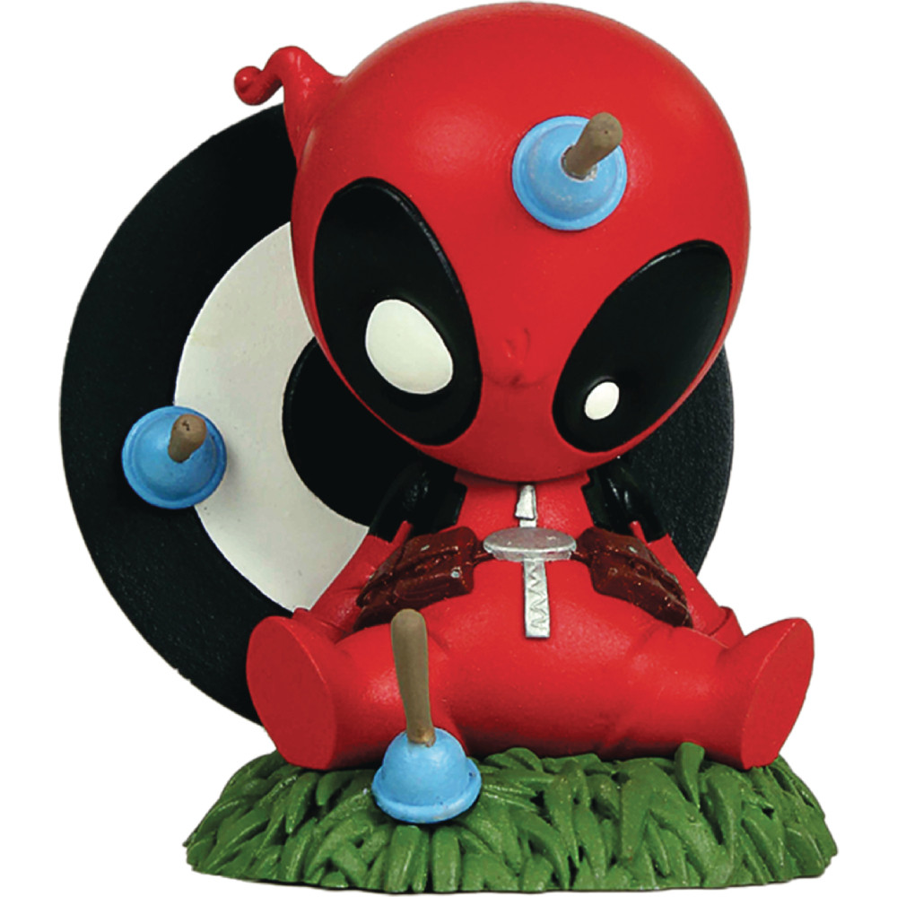 Figurina Marvel Mini Heroes Animated Deadpool PVC
