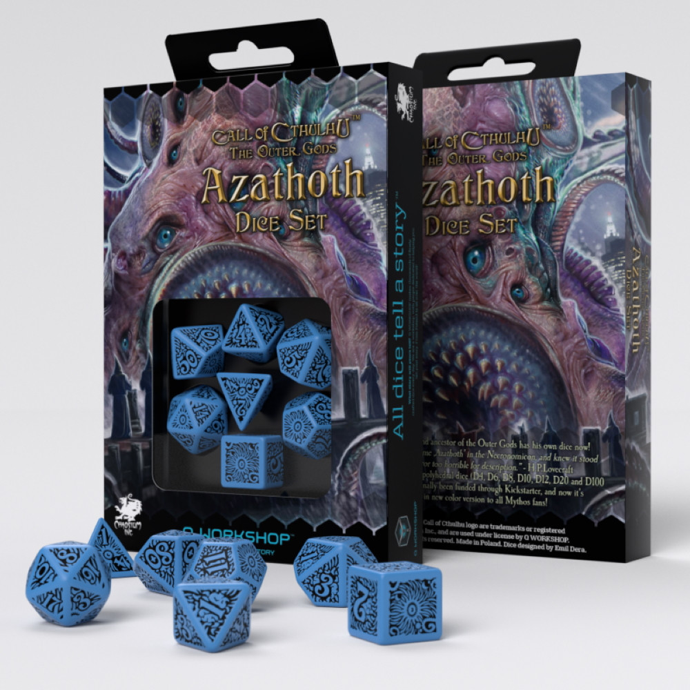 Call of Cthulhu Dice Set The Outer Gods Azathoth