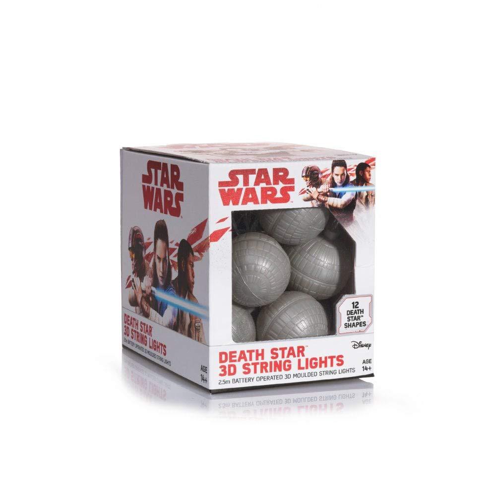 Becuri LED Star Wars 3D Death Star String Lights