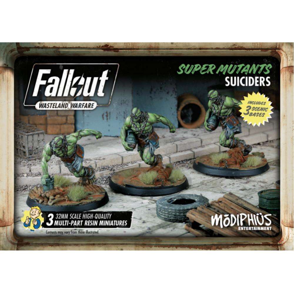 Expansiune Fallout: Wasteland Warfare - Super Mutants: Suiciders