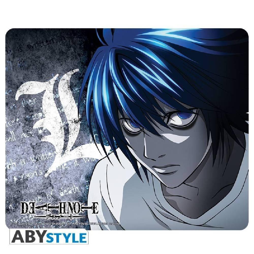 Mousepad Death Note - L