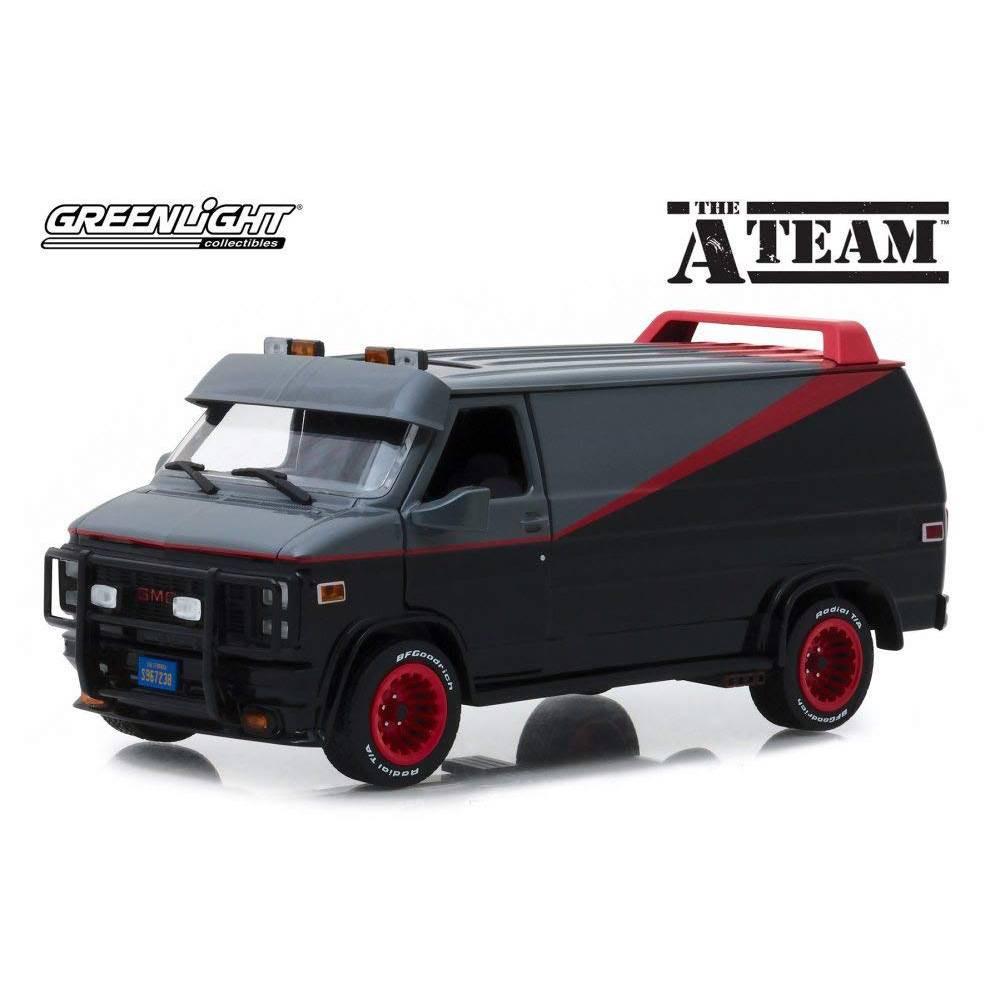 Figurina A-Team Diecast Model 1/24 1983 GMC Vandura