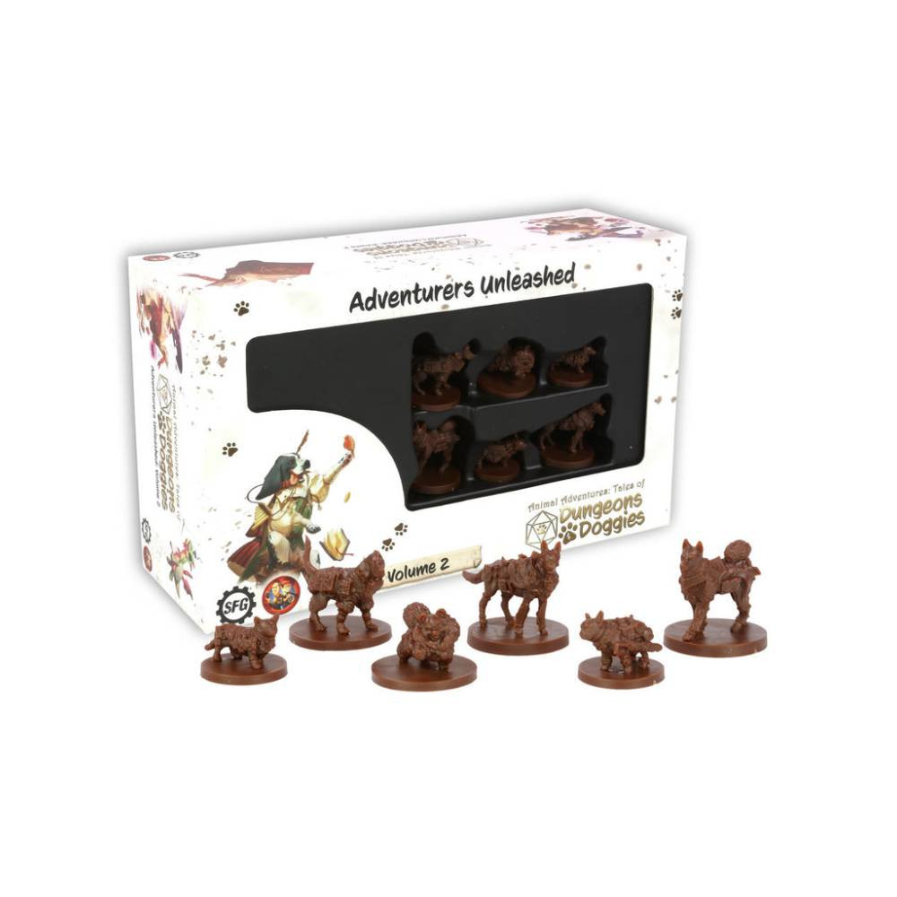 Joc Miniaturi Dungeons and Doggies Box 2