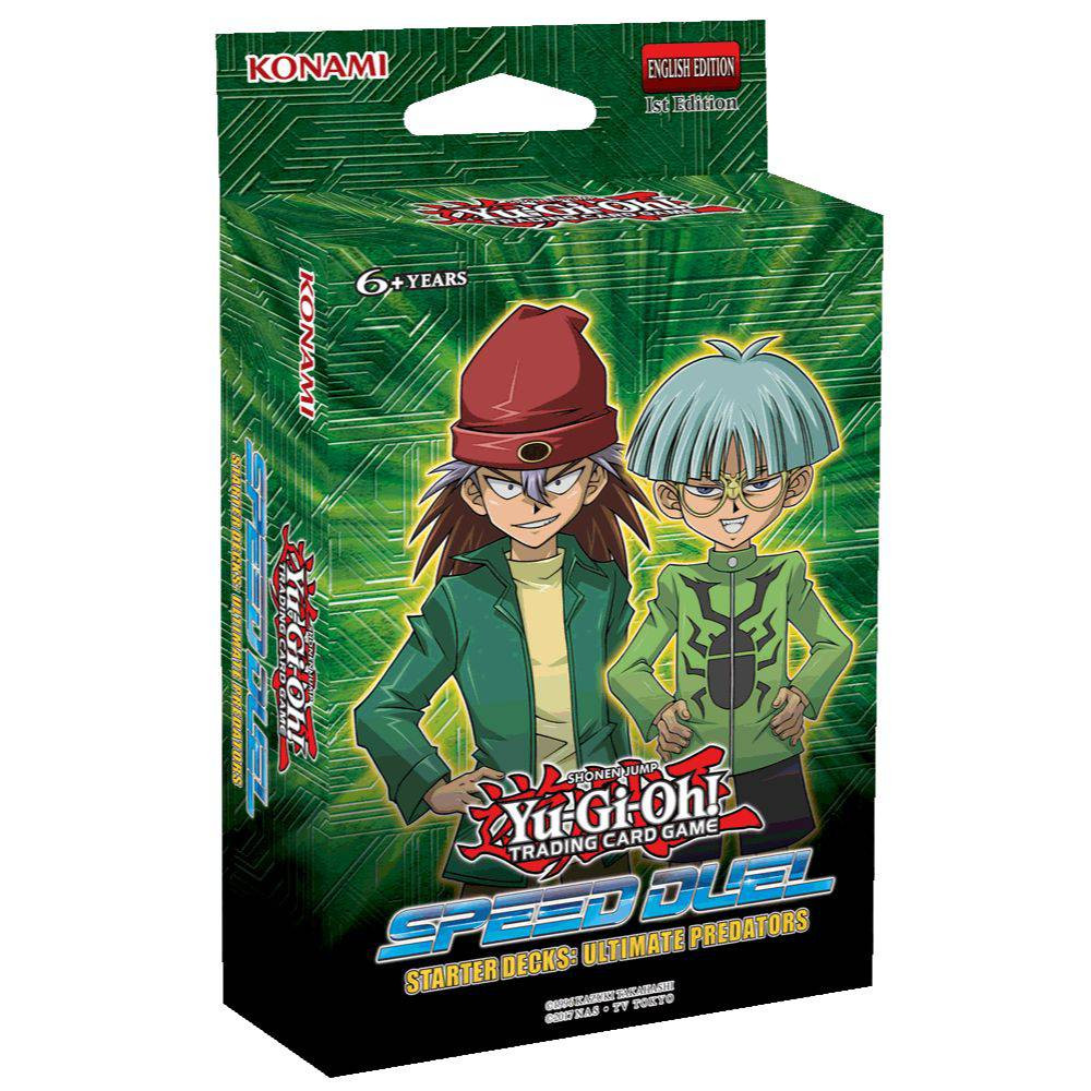 Joc Yu-Gi-Oh! Speed Duel Starter Decks Ultimate Predators
