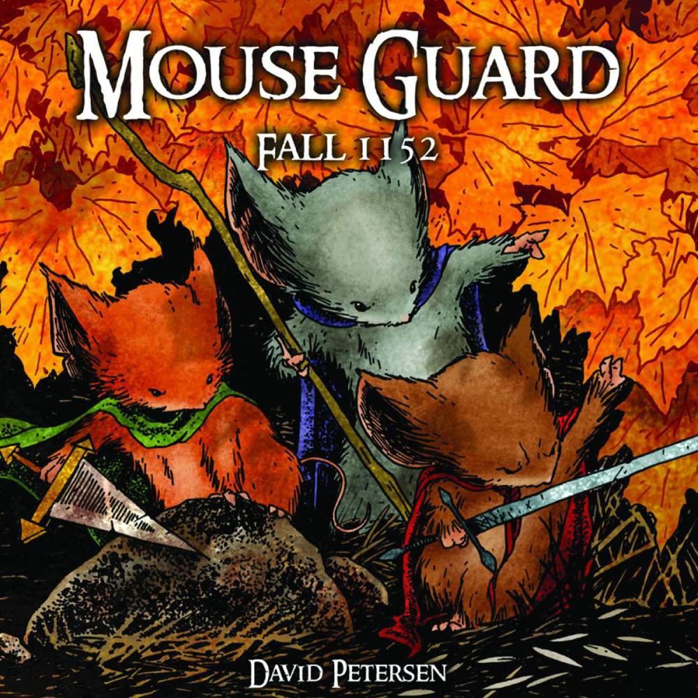 Mouse Guard HC Vol 01 Fall 1152 Dust Jacket Edition