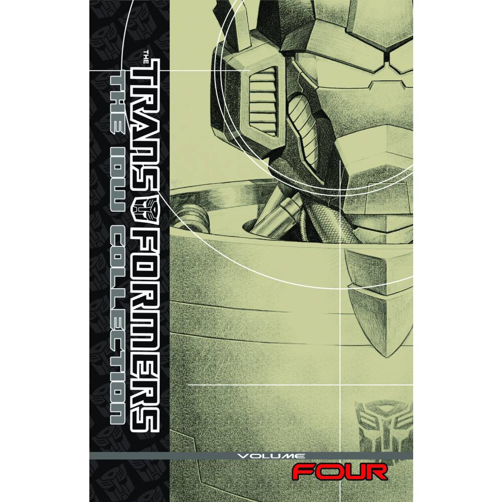 Transformers IDW Collection HC Vol 04