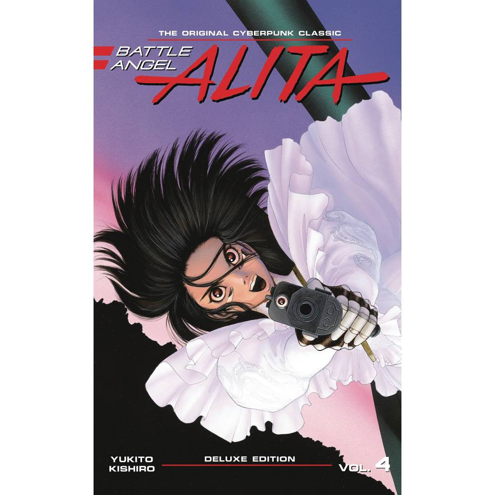 Battle Angel Alita Deluxe Edition HC Vol 04