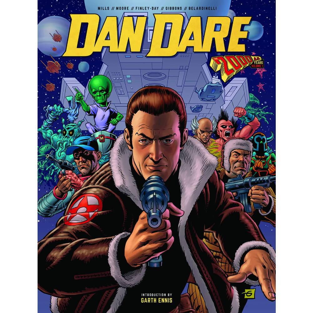 Dan Dare 2000 AD Years HC Vol 01-02