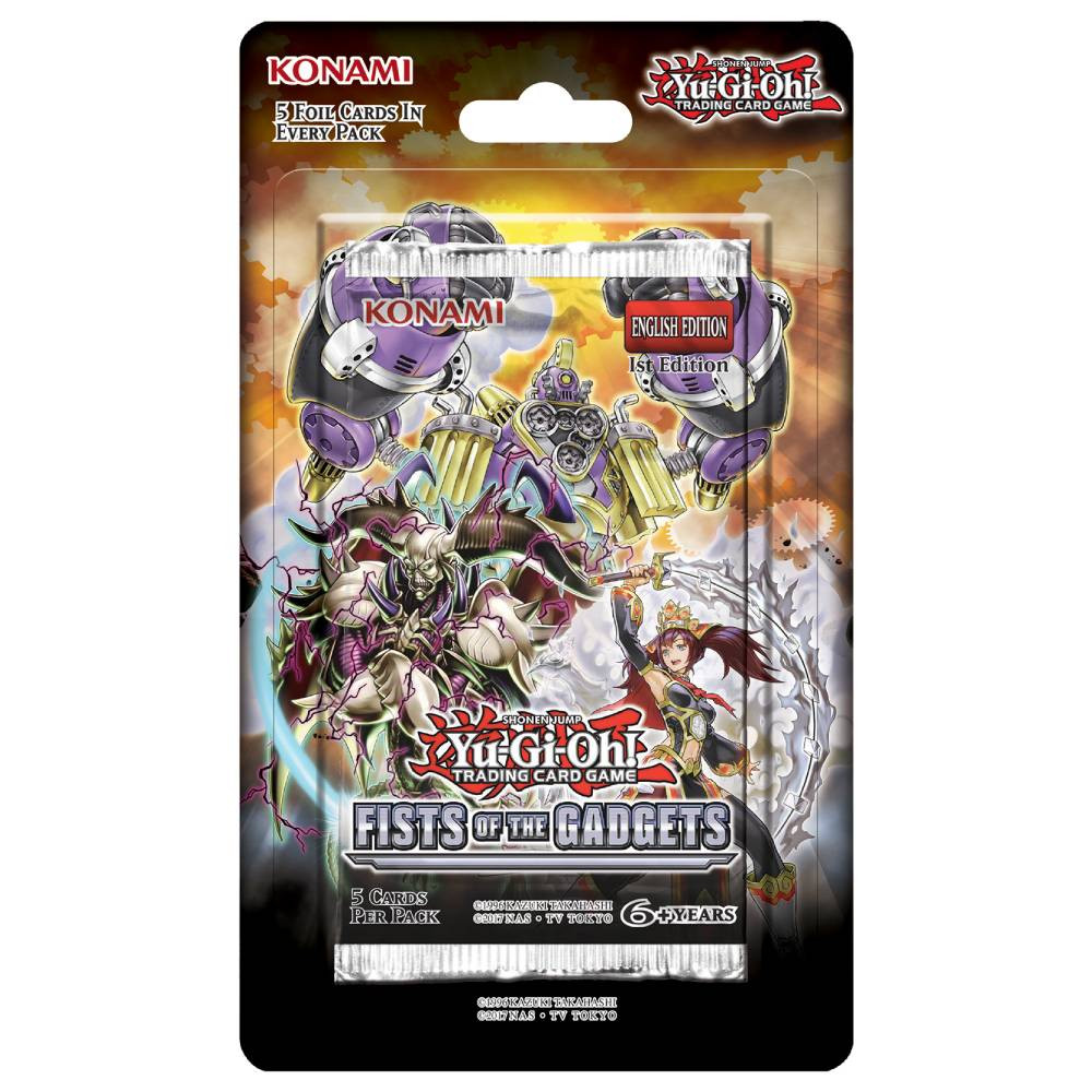 Pachet Booster Yu-Gi-Oh! Fists of the Gadgets