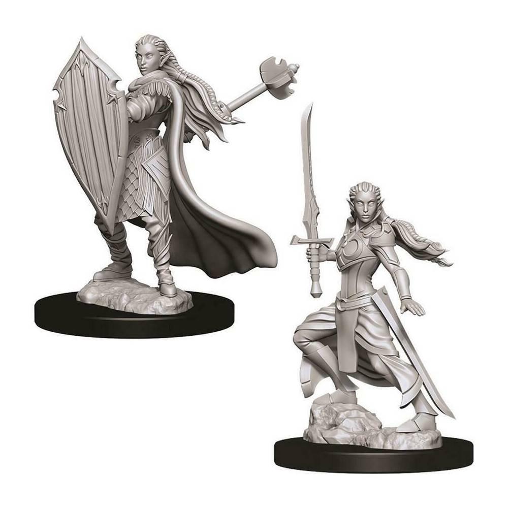 Miniaturi Nepictate D&D Female Elf Paladin