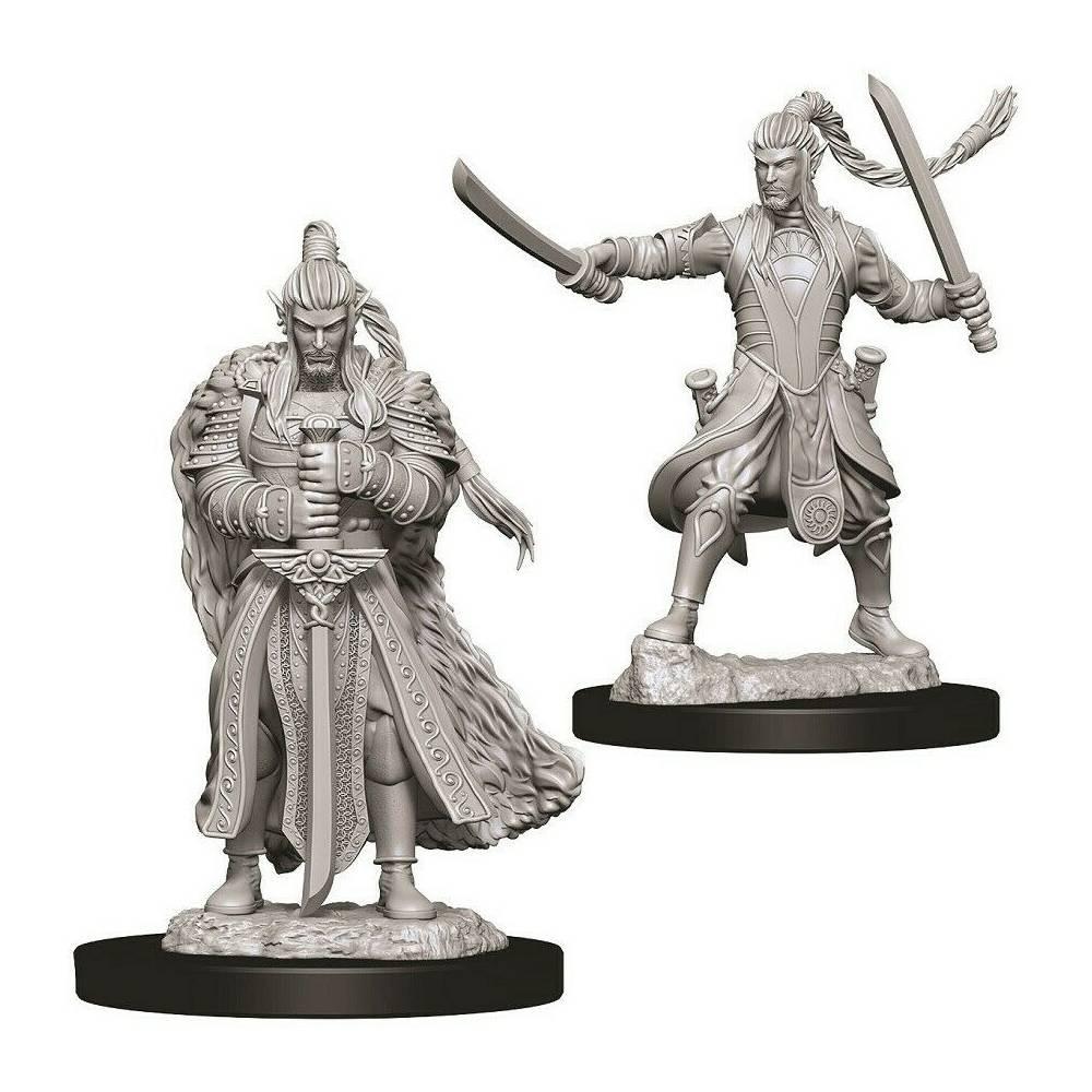 Miniaturi Nepictate D&D Male Elf Paladin
