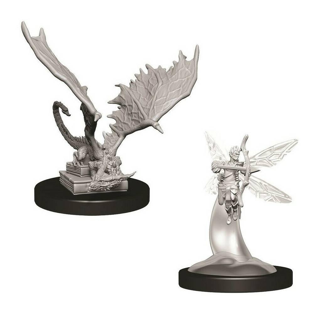 Miniaturi Nepictate D&D Sprite & Pseudodragon