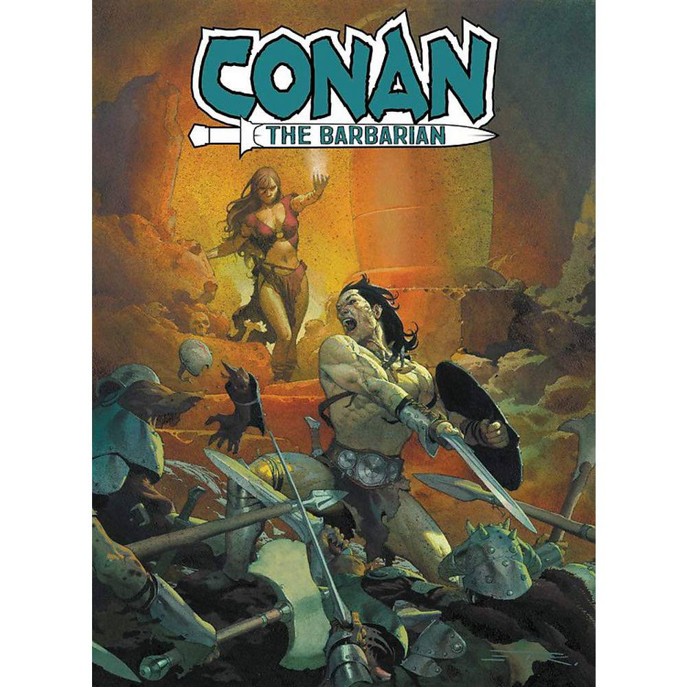 Conan The Barbarian TP Vol 01 Life and Death of Conan Book 01