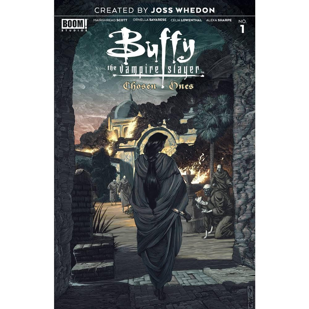 Buffy Vampire Slayer Chosen Ones 01 Cvr A Main