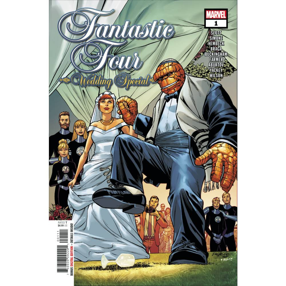 Fantastic Four Wedding Special 01