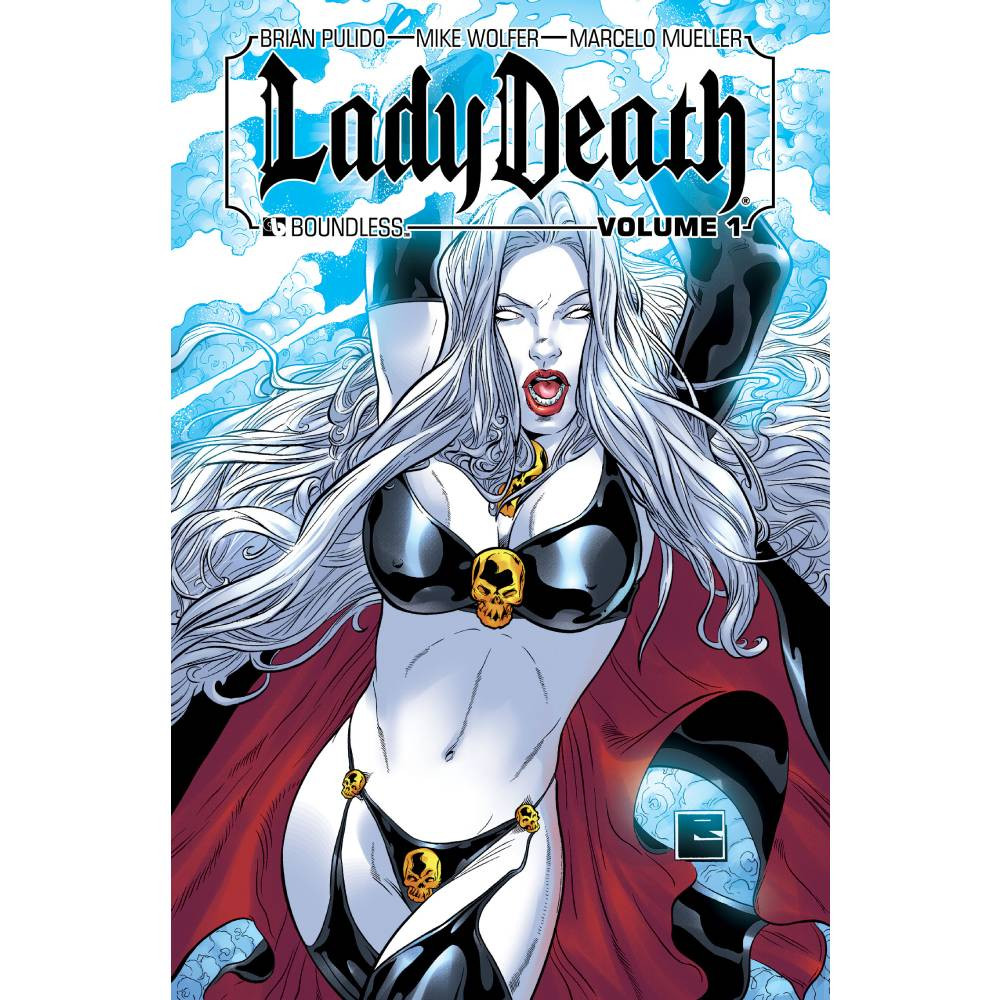 Lady Death HC Vol 01 Signed Edition