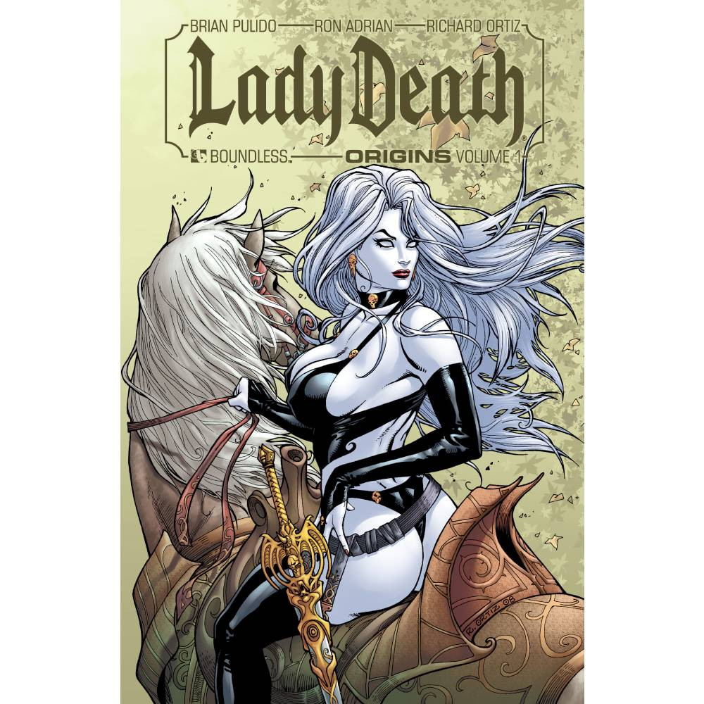 Lady Death Origins HC Vol 01 Signed Edition