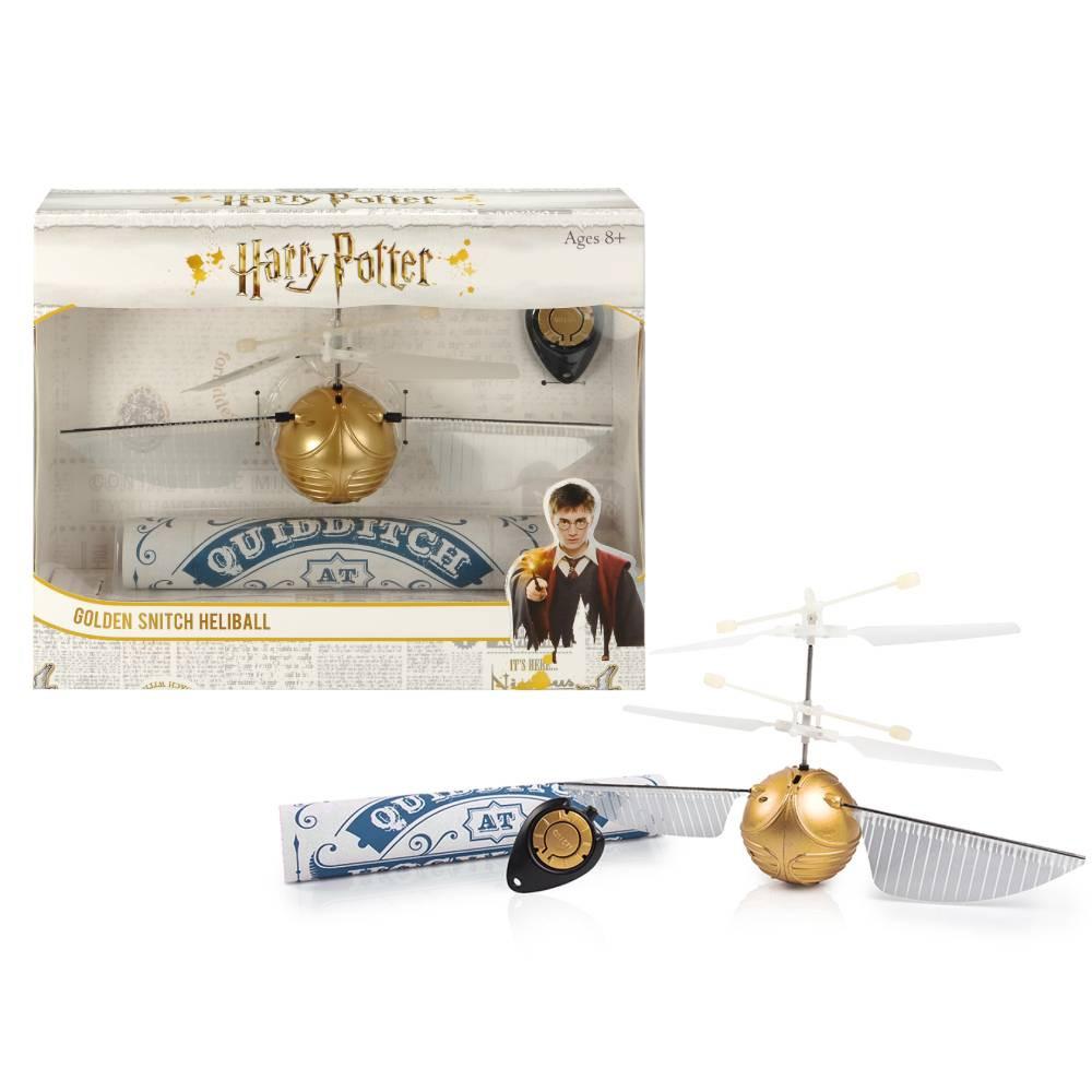 Jucarie Zburatoare Harry Potter Golden Snitch Heliball