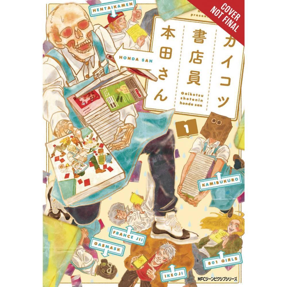 Skull-Face Bookseller Honda-San GN Vol 01