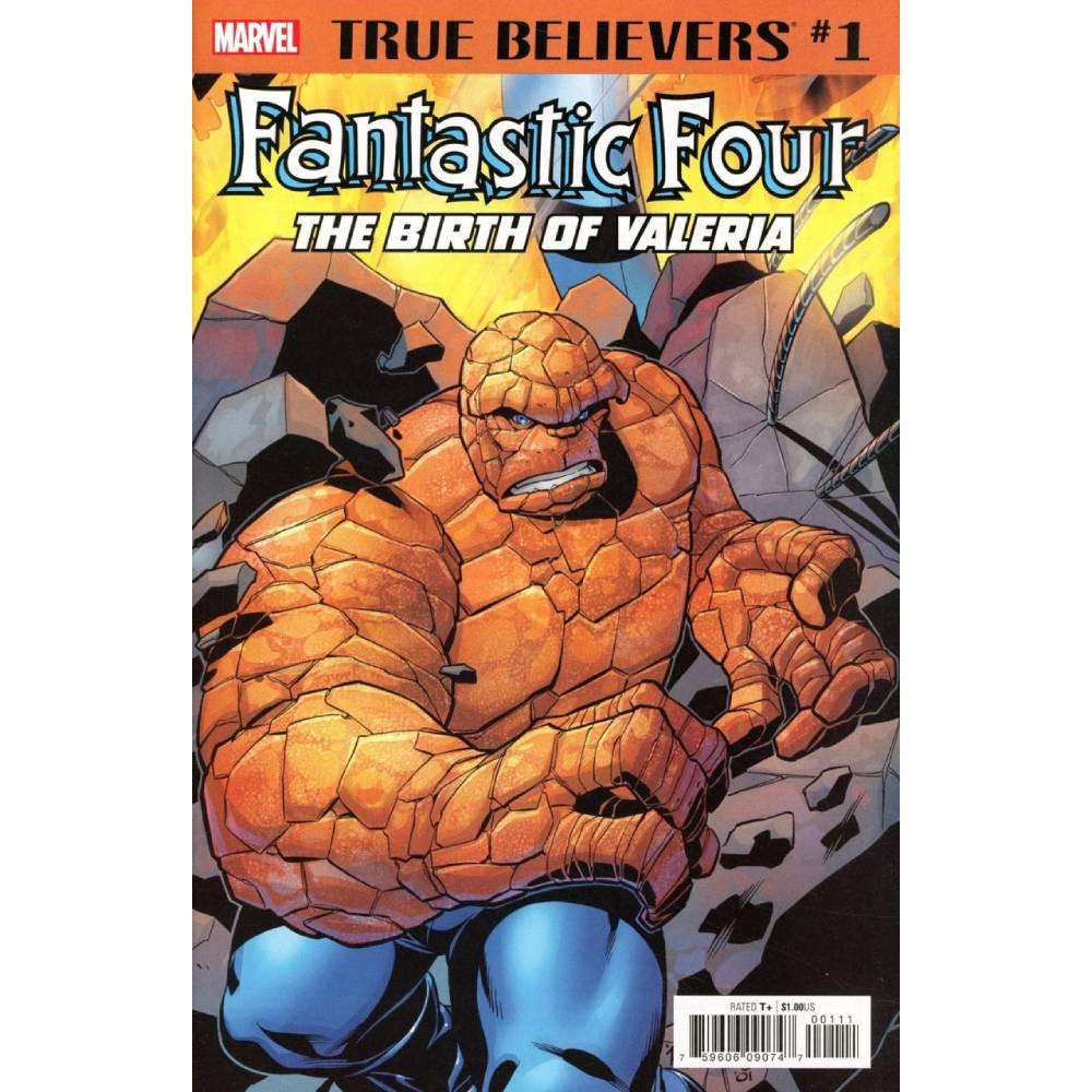 True Believers Fantastic Four Birth of Valeria 01