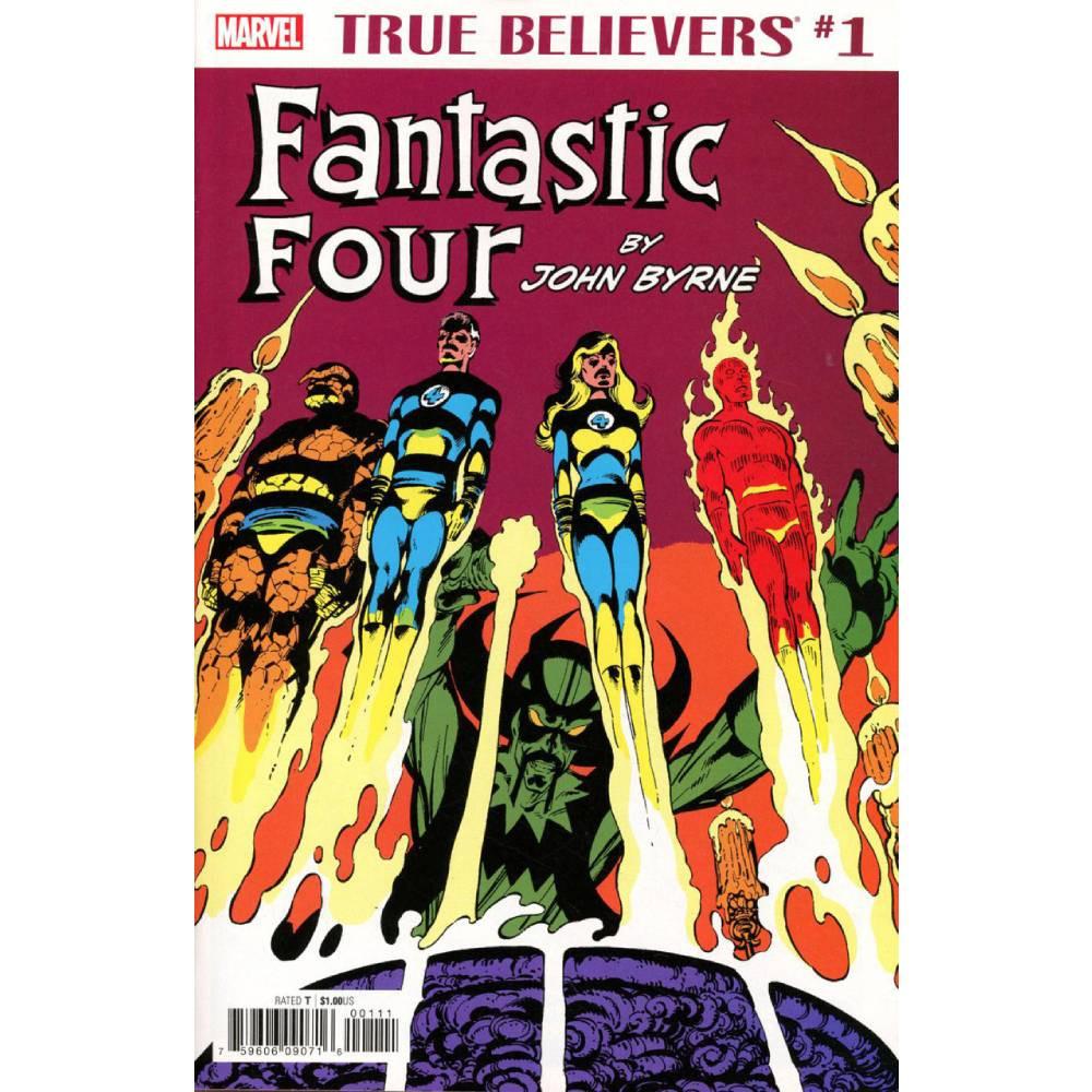 True Believers Fantastic Four by John Byrne 01