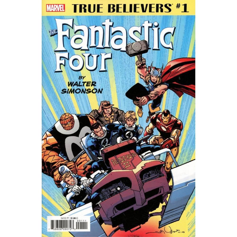 True Believers Fantastic Four by Walter Simonson 01