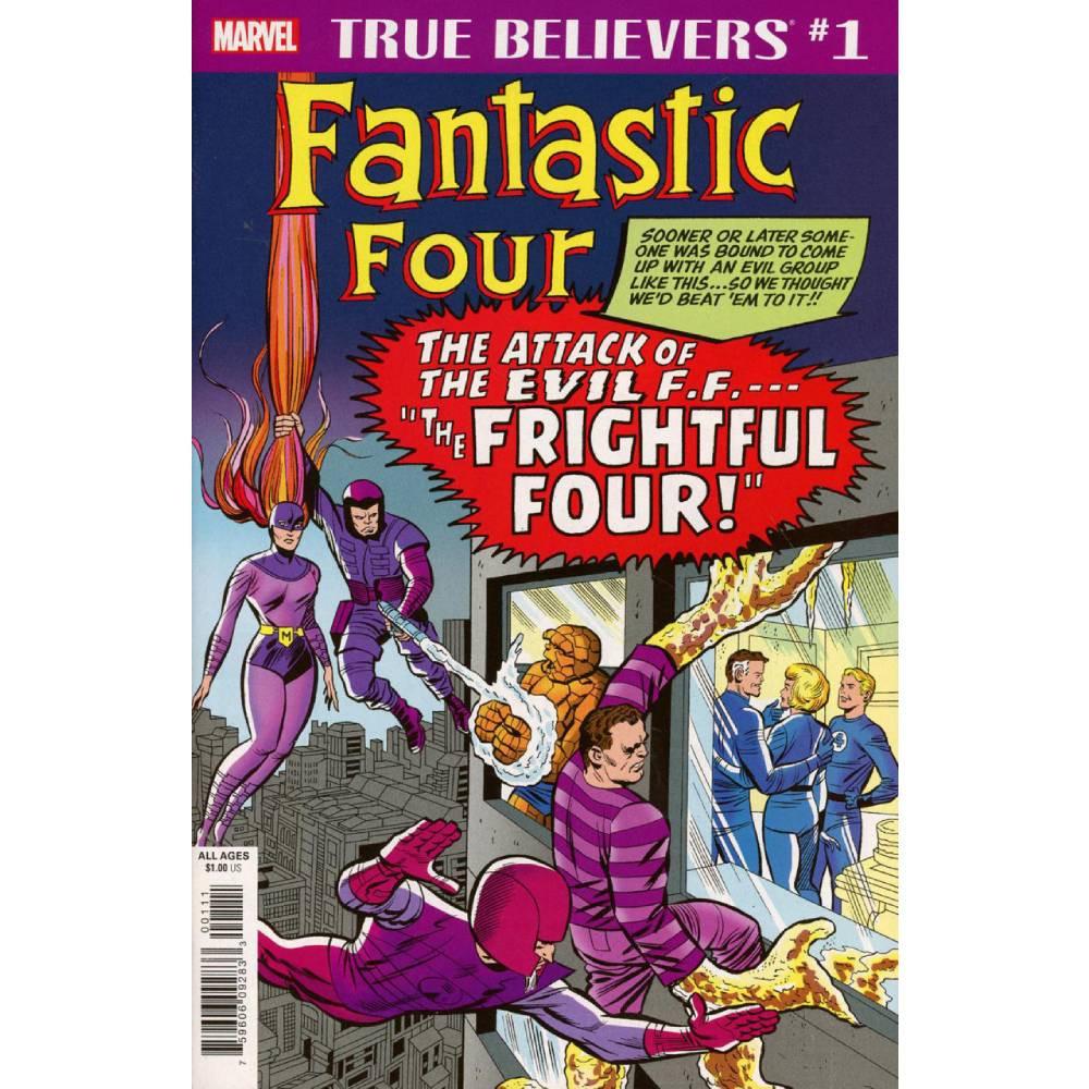 True Believers Fantastic Four Frightful Four 01
