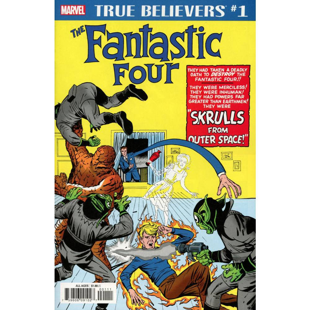 True Believers Fantastic Four Skrulls 01