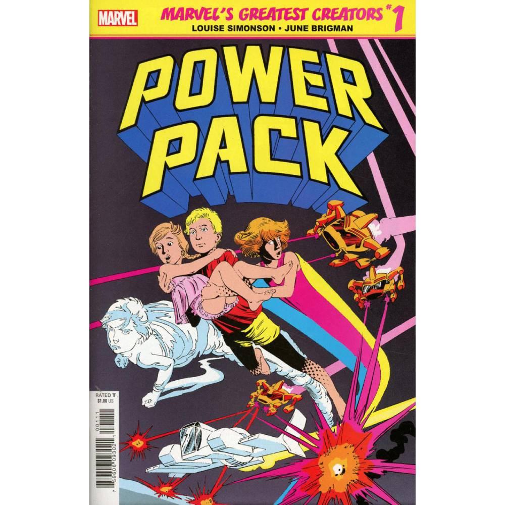 True Believers Power Pack 01