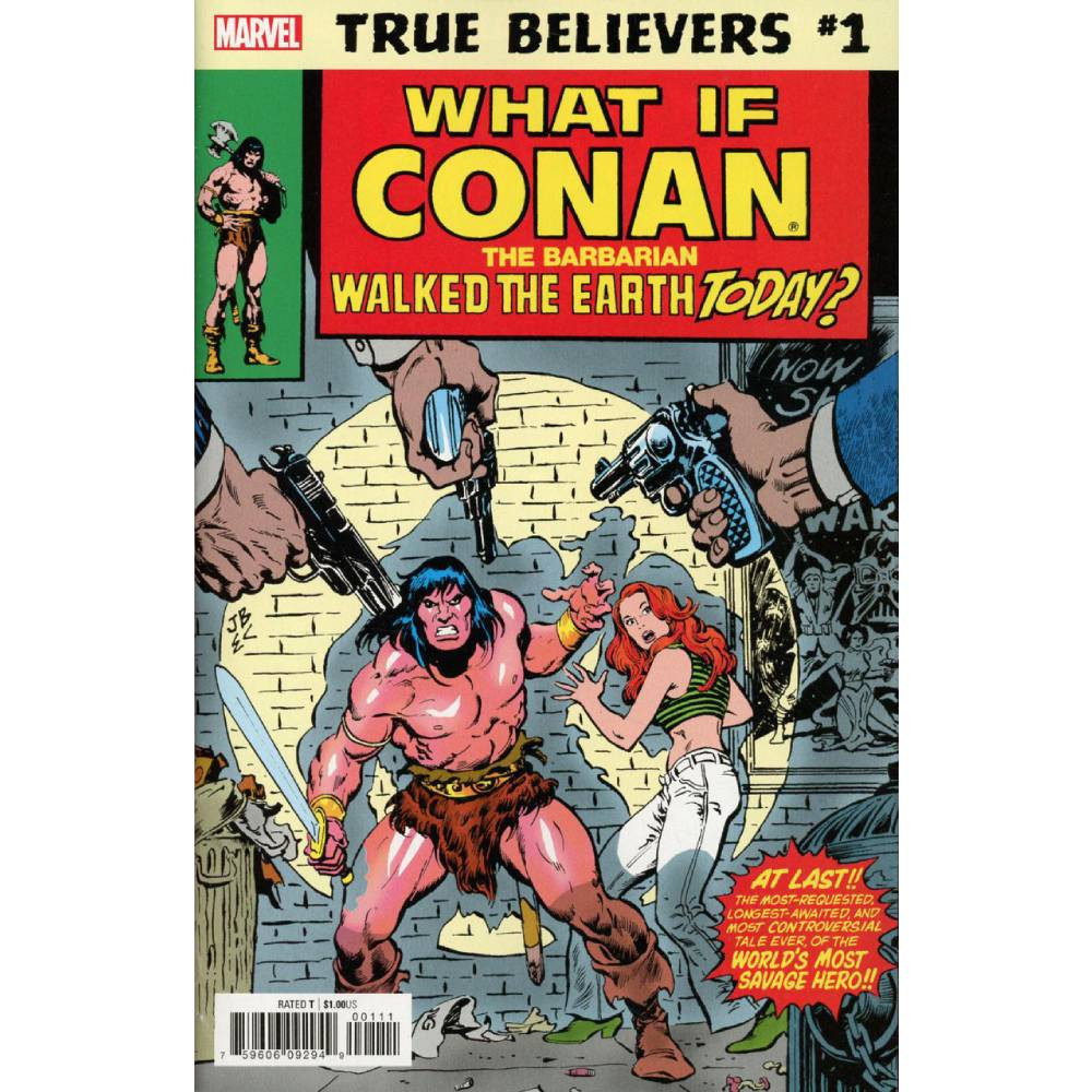 True Believers What If Conan Walked Earth Today 01