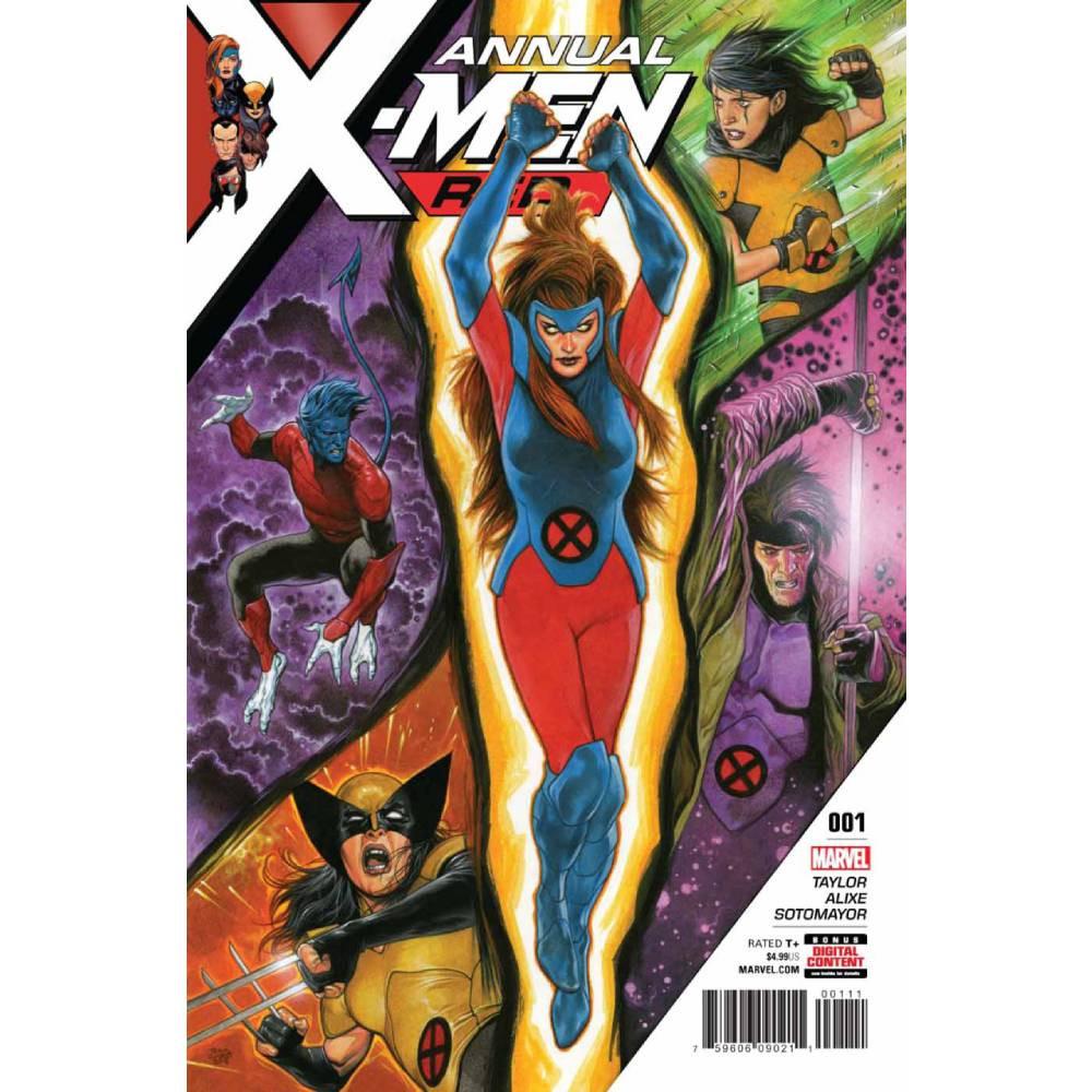 X-Men Red Annual 01